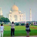 Taj Mahal With Colonial Walk Tour